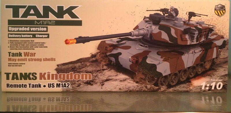 RC bojový tank Monster