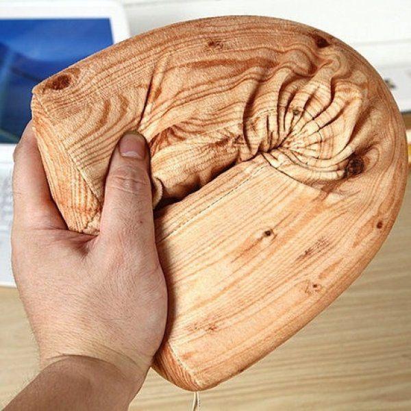 Relaxační polštářek - dřevěný trám