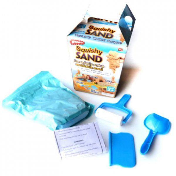 Sada pro modelování z inteligentního písku - Modrá