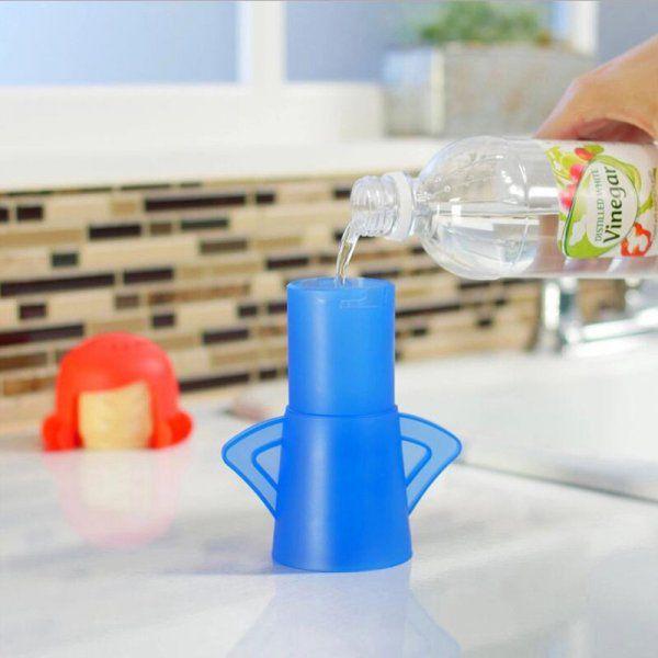 Parní čistič mikrovlnné trouby Tchýně – Modrá