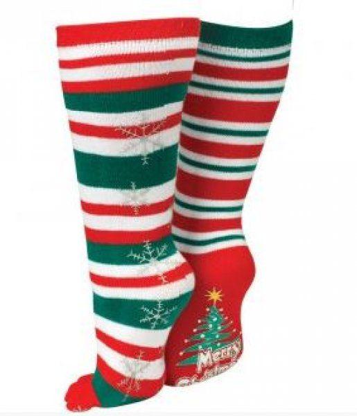 8bb8e36f0de Vánoční prstové ponožky - Sněhové vločky