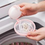Lapač vlasů a chlupů do pračky - Růžová