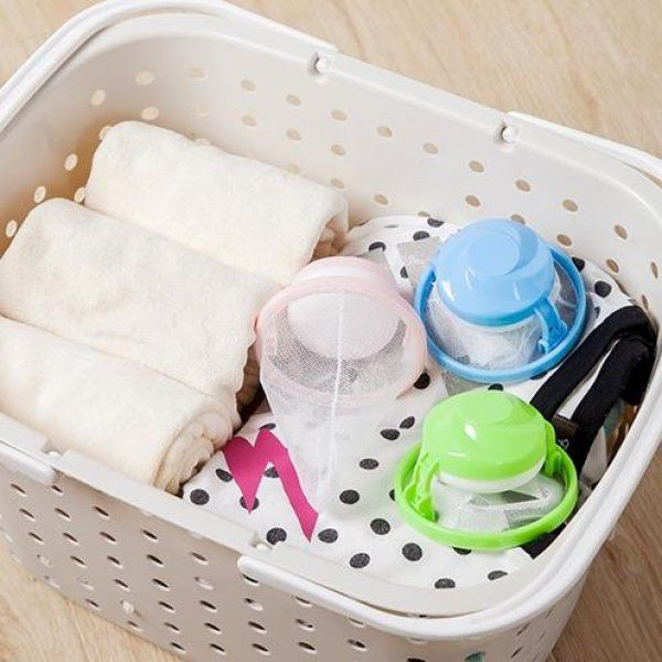 Lapač vlasů a chlupů do pračky - Zelená