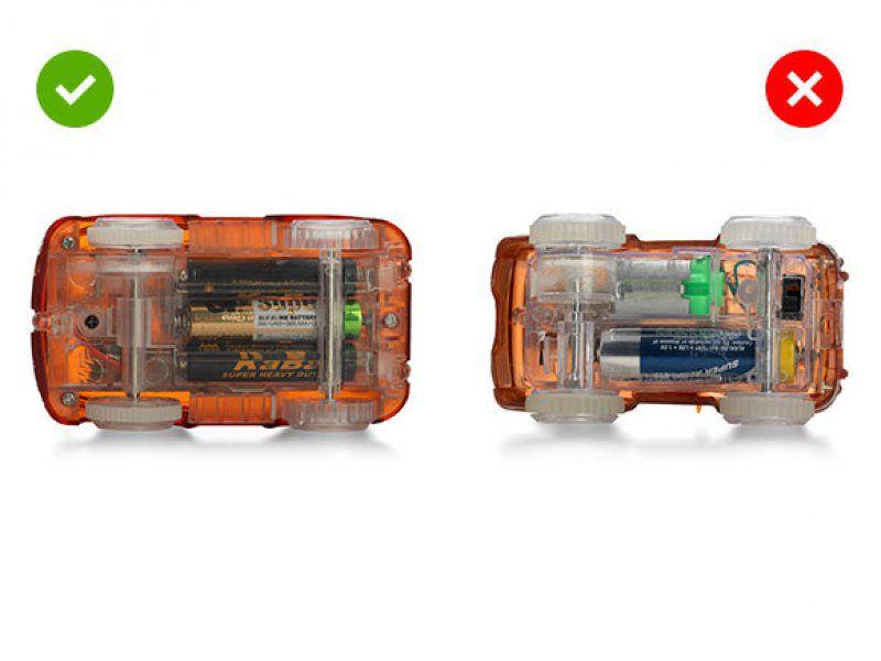 Svítící reflexní autodráha - 220 dílků