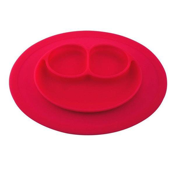 Dětské silikonové prostírání - červená