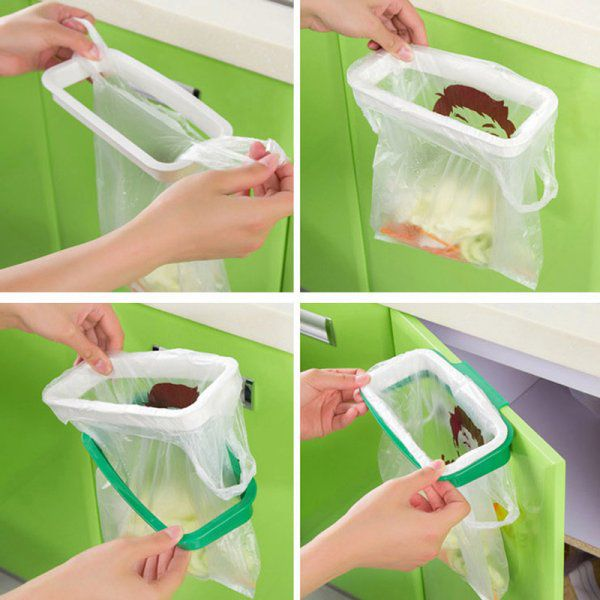 Závěsný držák na odpadkové pytle