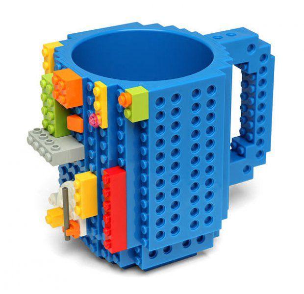 LEGO hrnek – červená