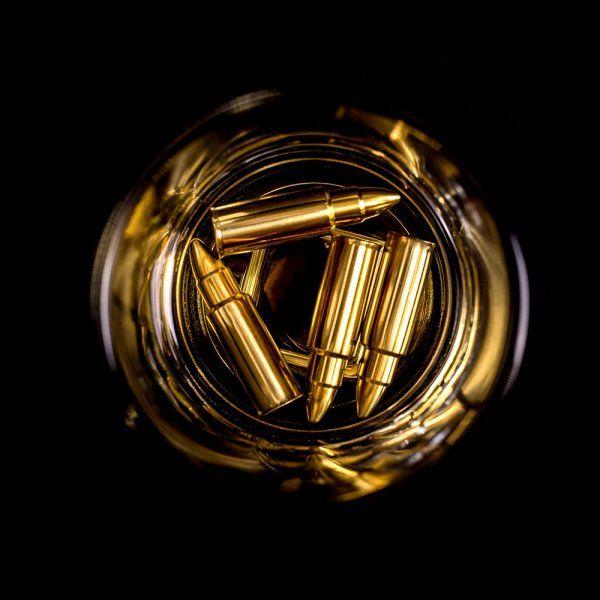 Kovové náboje do nápojů – Zlatý