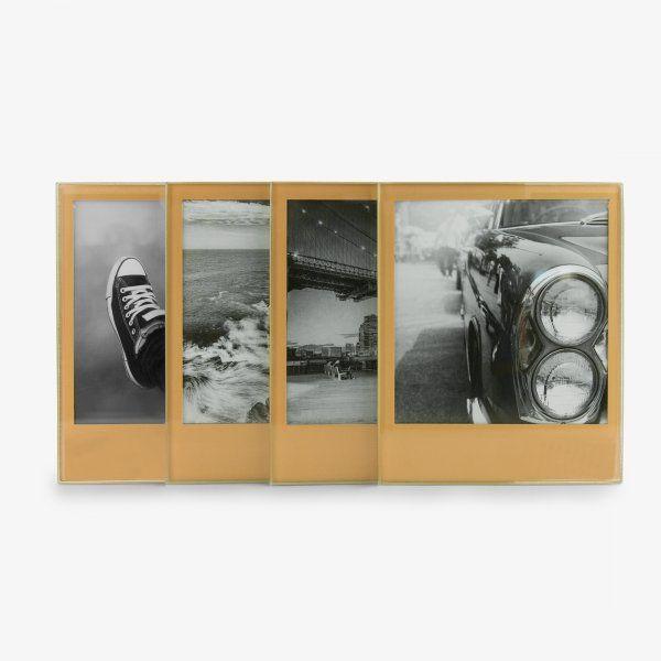 Nápojové podtácky s vlastní fotkou – zlatá edice