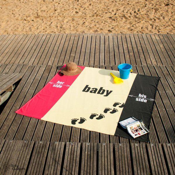 Plážový ručník pro celou rodinu
