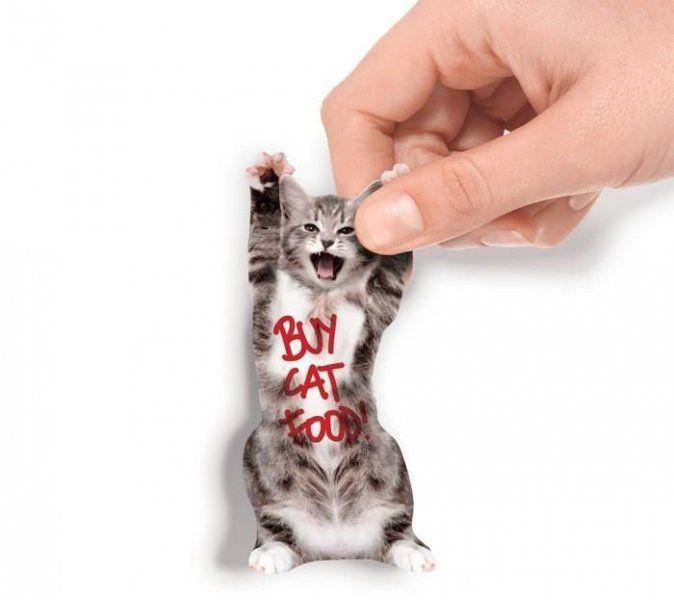 Samolepicí bločky - kočička
