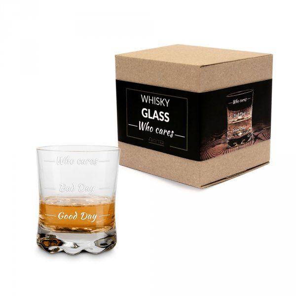 Sklenice na whisky Who cares