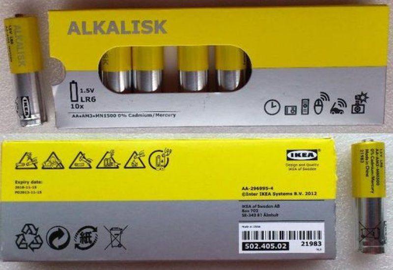 Tužková baterie AAA