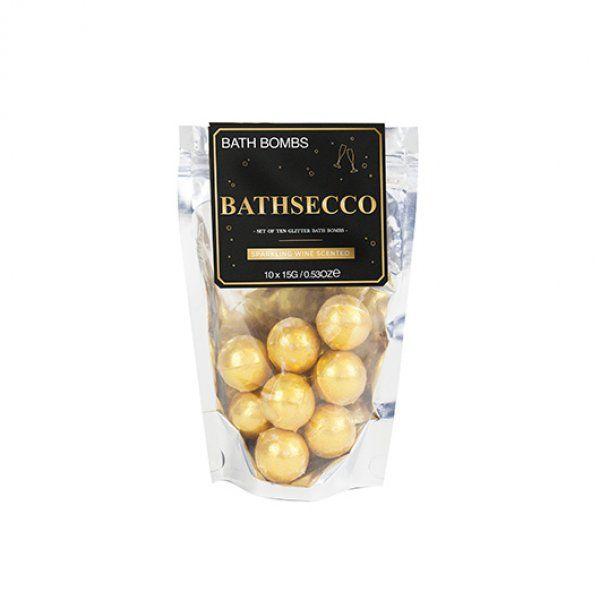 Šumivá koule do koupele - Bathsecco