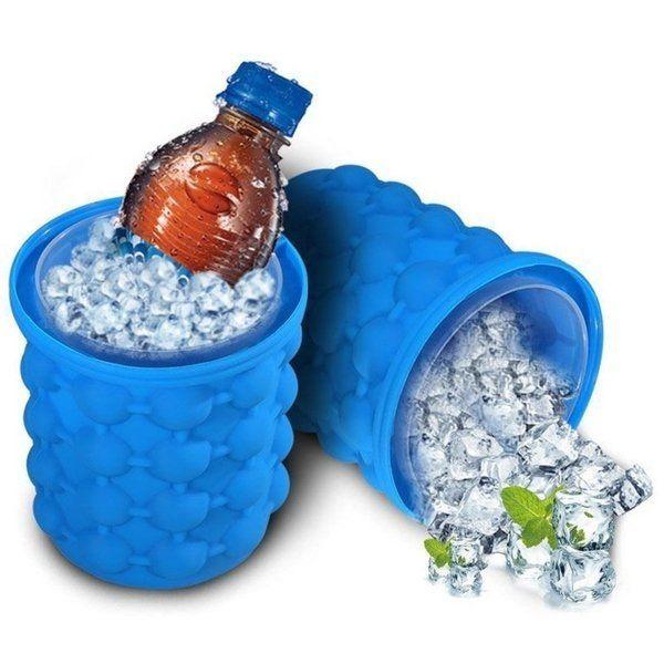 Silikonová nádoba na výrobu ledu pro 120 ledových kostek