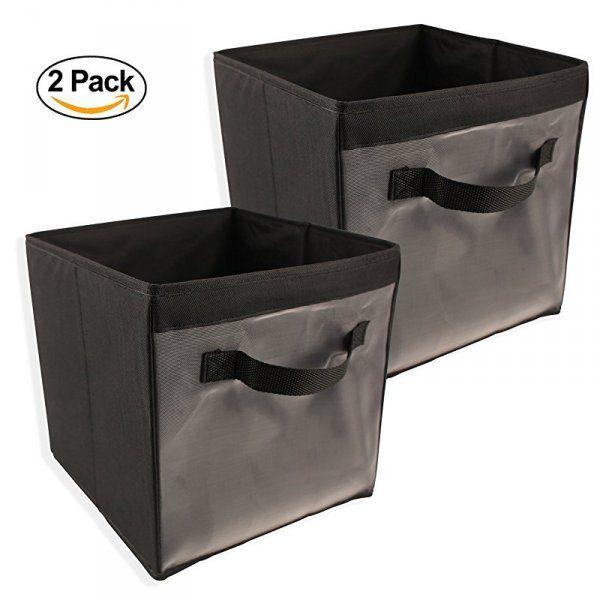 Rozkládací úložné boxy - 2 kusy