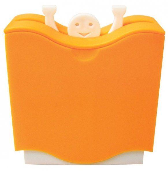 Držáček na párátka HELP! – oranžový