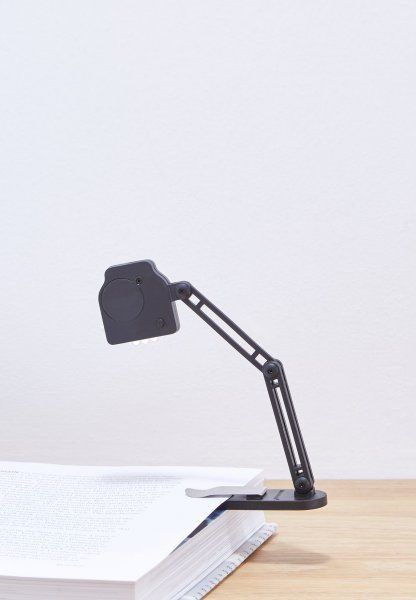Originální lampička na knihu