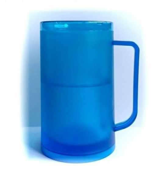 Ledový korbel 330 ml – modrý