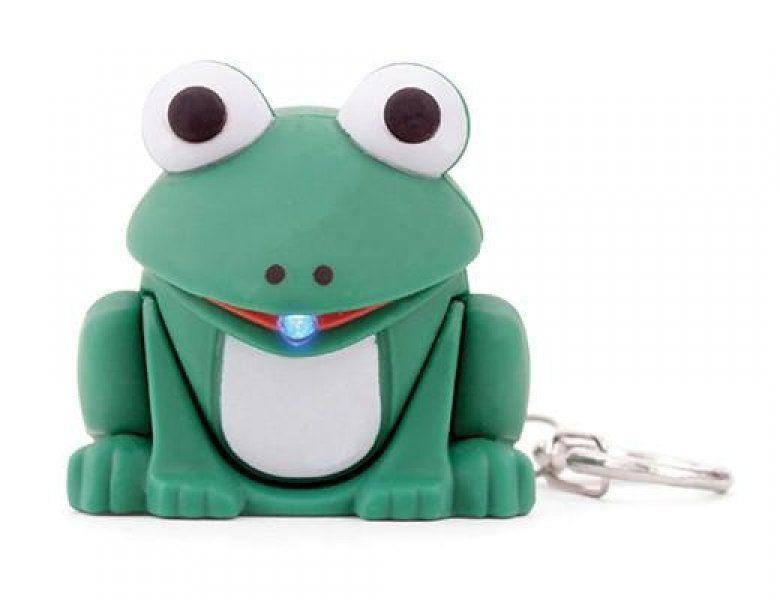 Přívěsek na klíče žába