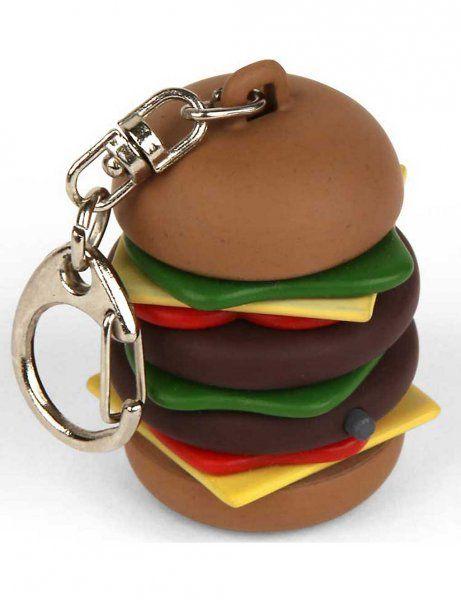 Přívěsek na klíče Mini hamburger