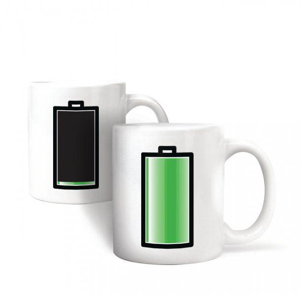 Morfující hrneček s baterií