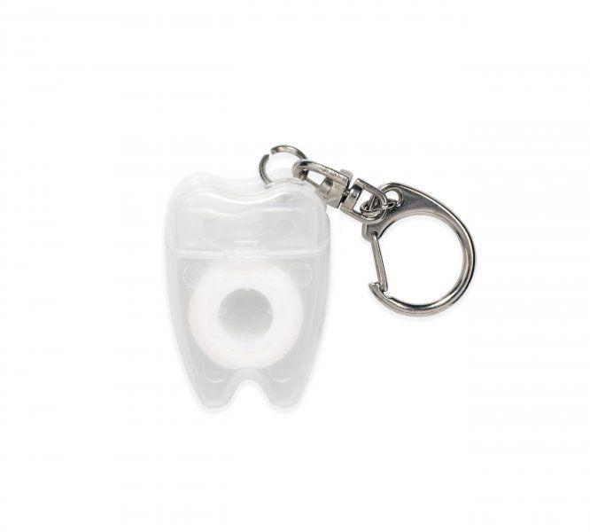 Klíčenka – dentální niť