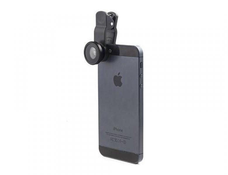 Set miniobjektivů na smartphone