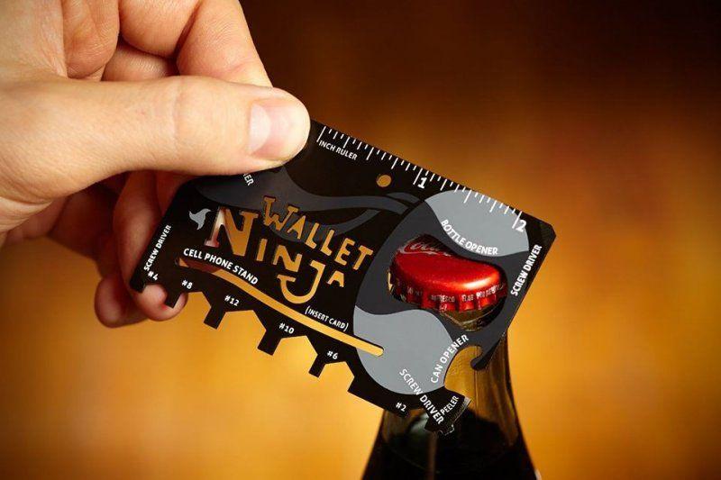 Ocelová multifunkční karta Ninja