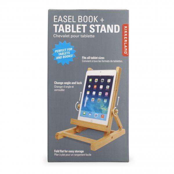 Dřevěný stojan na tablet