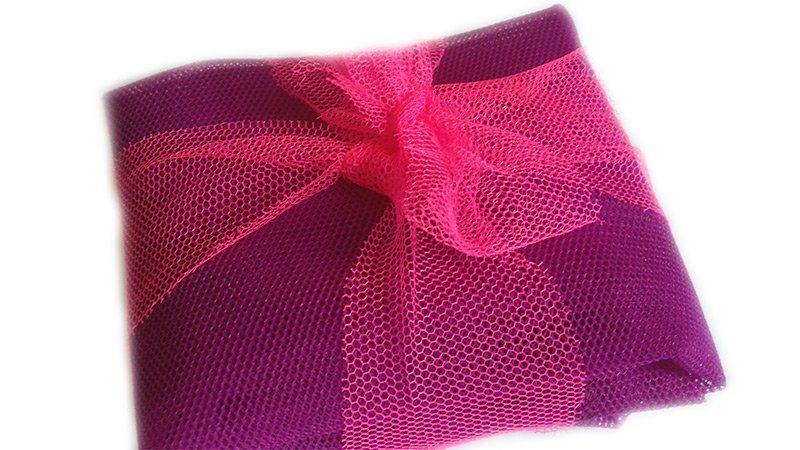 Sáčkovka taška nákupní – fialová