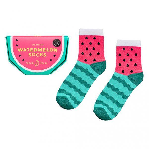 Ponožky – motiv meloun