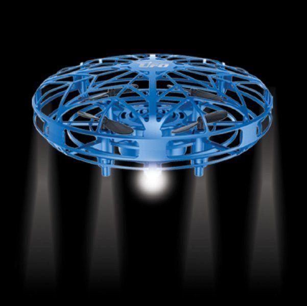 UFO dron reagující na překážky