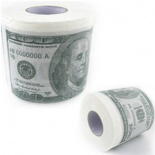 Toaletní papír stodolarovka