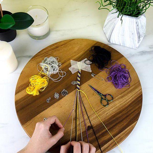 DIY náramky na jógu
