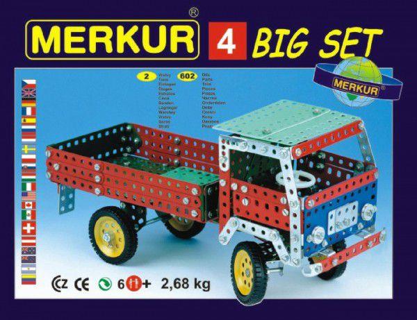 MERKUR Stavebnice modelů 602ks 2 vrstvy v krabici 36x26,5x5,5cm