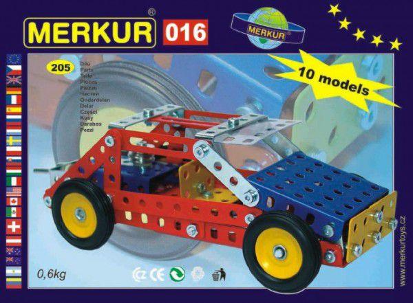 MERKUR Buggy 016 Stavebnice 10 modelů 20v krabici 26x18x5cm