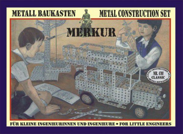 MERKUR CLASSIC C01 Stavebnice v krabici 36x28x5cm
