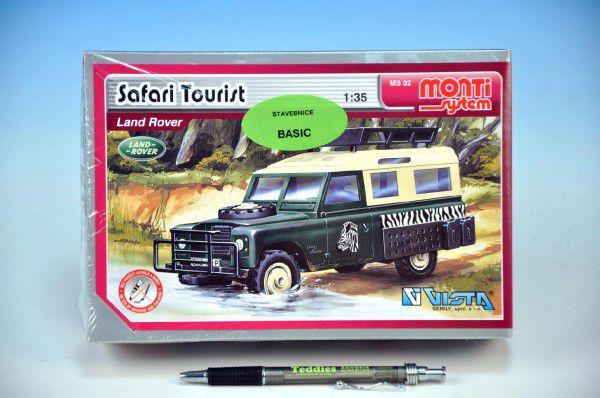 Monti 02 Safari Tourist Stavebnice 1:3v krabici 22x15x6cm