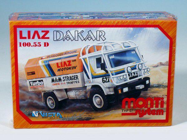 Vista Stavebnice Monti 07 Rallye Dakar Liaz 1:48