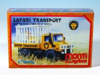 Stavebnice Monti 51 Safari-Mercedes Unimog v krabici 22x15x6cm