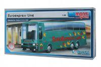 Stavebnice Monti 33 Euroexpress Line-Bus Setra 1:48 v krabici 31,5x16,5x7,5cm
