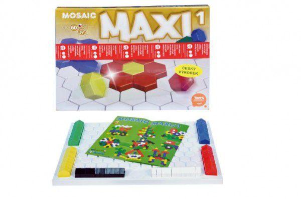 Mozaika Maxi/1 60ks v krabici 43x32x3,5cm 3+