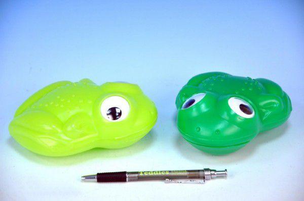 Žába plast 15cm  barvy 12m+
