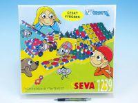 Stavebnice Seva plast 1239ks v krabici 35x33x10,5cm