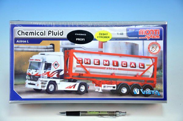 Stavebnice Monti 60 Chemical Fluid 1:48