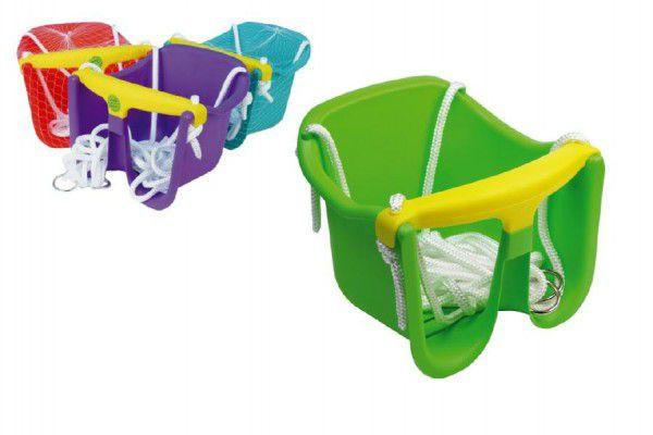 Chemoplast Houpačka sedačková plastová Baby zelená