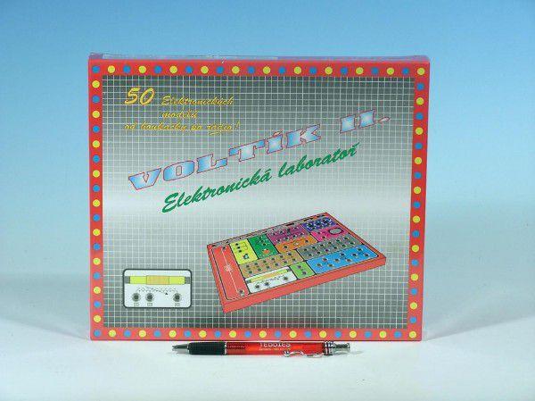 Voltík II. společenská hra na baterie v krabici 26,5x22,5x3,5cm