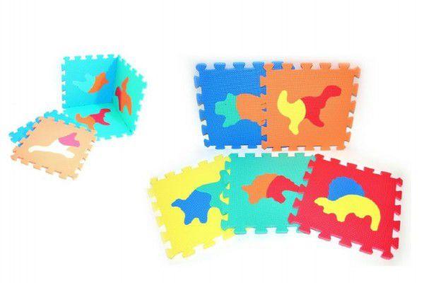 Teddies Pěnové puzzle Dinosauři 30x30cm 10ks