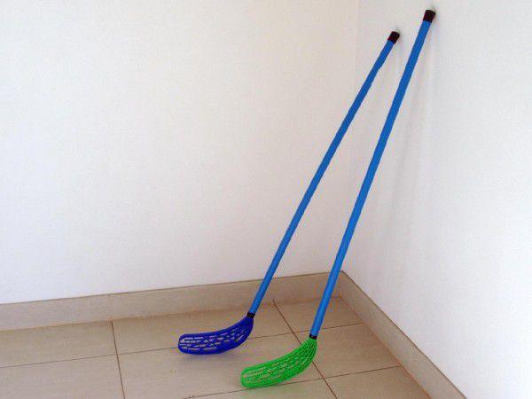 Teddies 47844 Floorball hokejka plast 110x30x3cm asst 2 barvy